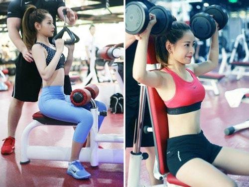 chi pu: hot girl cham tap luyen giu dang nhat nhi vbiz - 1