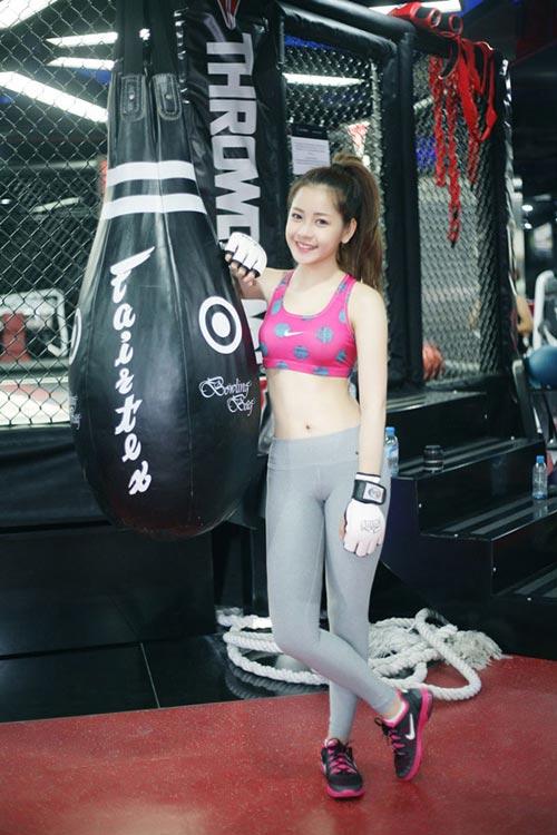 chi pu: hot girl cham tap luyen giu dang nhat nhi vbiz - 13