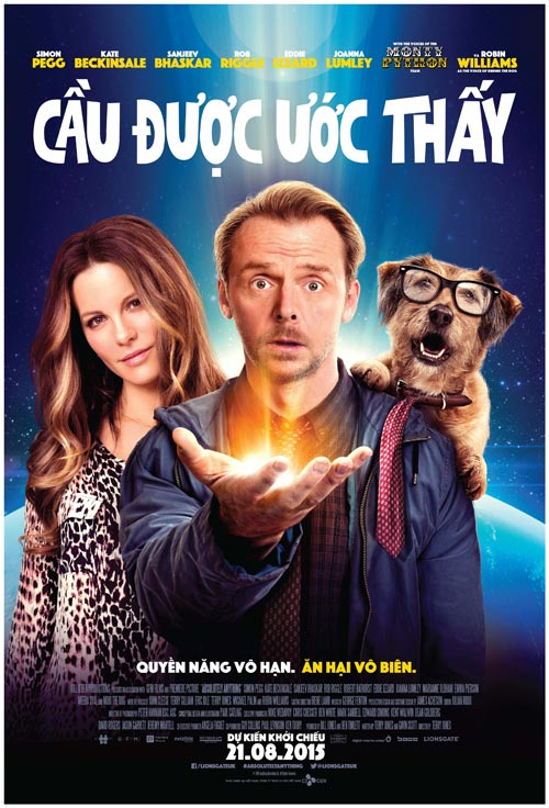"simon pegg lam tong thong my trong ""absolutely anything"" - 2"