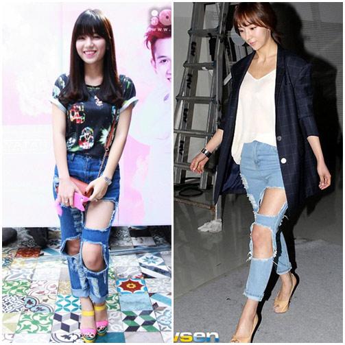 """sao viet do mot quan jeans """"mac nhu khong"""" voi sao ngoai - 4"""