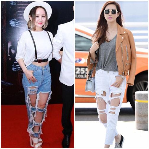 """sao viet do mot quan jeans """"mac nhu khong"""" voi sao ngoai - 8"""