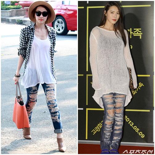 """sao viet do mot quan jeans """"mac nhu khong"""" voi sao ngoai - 9"""