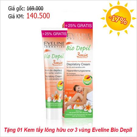 khuyen mai 50% cac san pham cua eveline - 8