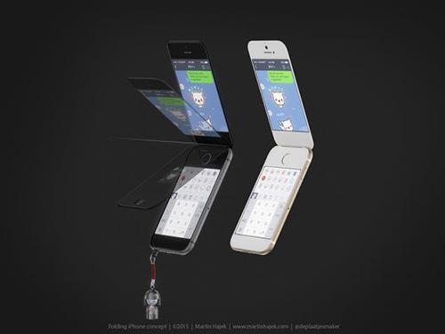 Ngắm thiết kế iPhone mới, phiên bản nắp gập-3