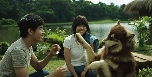 """hari won, quang dang nhay """"sung"""" trong phim moi - 1"""