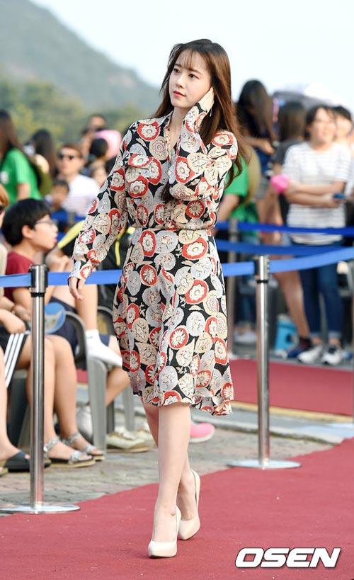 """""""nang co"""" goo hye sun dep tinh khoi o tuoi 31 - 1"""