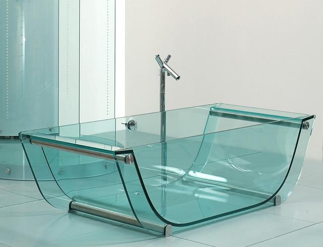 Thoải mái vẫy vùng trong bồn tắm thủy tinh-3