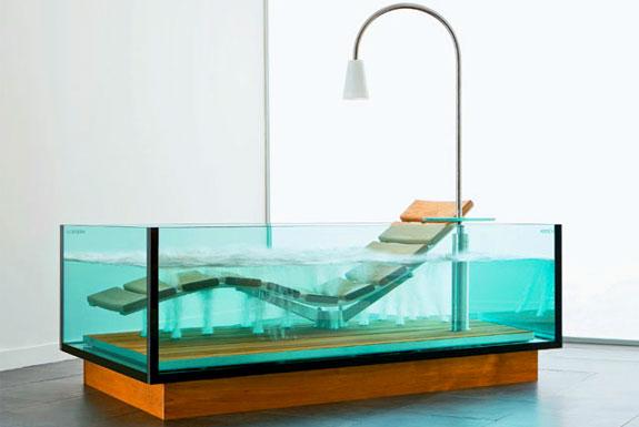 Thoải mái vẫy vùng trong bồn tắm thủy tinh-1