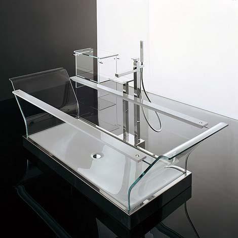 Thoải mái vẫy vùng trong bồn tắm thủy tinh-4