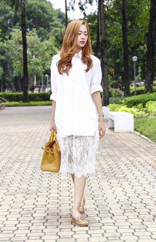 tuan qua: angela phuong trinh khoe eo thon tuyet my - 5