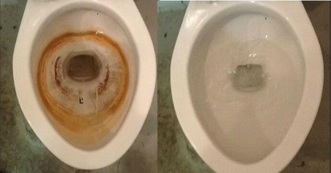 Dùng nước ngọt vệ sinh, mẹ chẳng lo mó tay vào bồn cầu-3