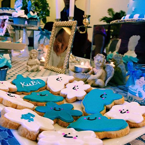 Khánh Thi - Phan Hiển tổ chức tiệc đầy tháng cho con - 5