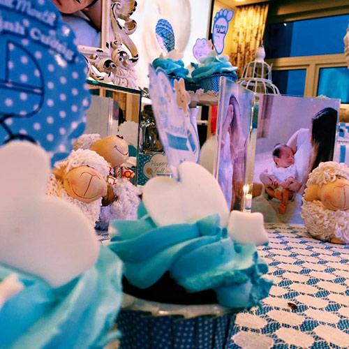 Khánh Thi - Phan Hiển tổ chức tiệc đầy tháng cho con - 2