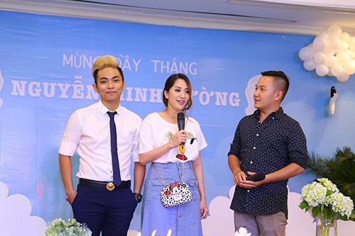 Khánh Thi - Phan Hiển tổ chức tiệc đầy tháng cho con - 11