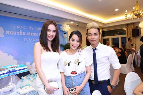 Khánh Thi - Phan Hiển tổ chức tiệc đầy tháng cho con - 14