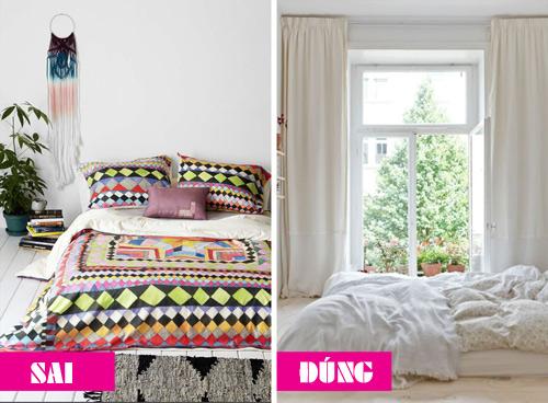 8 sai lầm phòng ngủ khiến bạn trằn trọc cả đêm-1