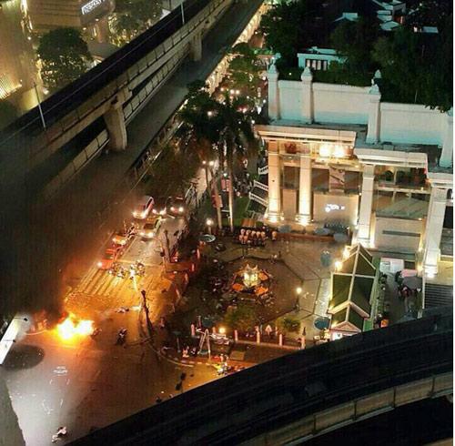 Nổ bom chấn động thủ đô Bangkok, hàng trăm người thương vong - 6
