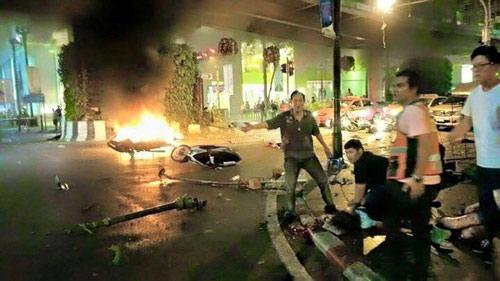 Nổ bom chấn động thủ đô Bangkok, hàng trăm người thương vong - 3