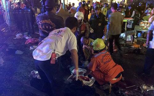 Nổ bom chấn động thủ đô Bangkok, hàng trăm người thương vong - 8