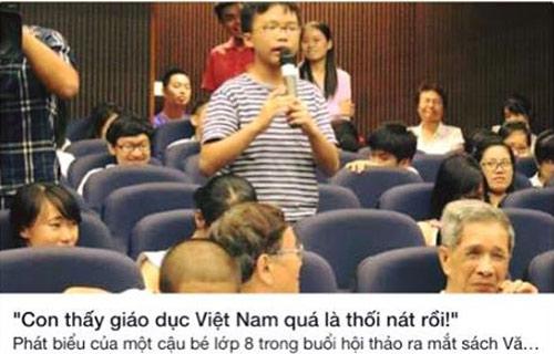 Học sinh phát biểu