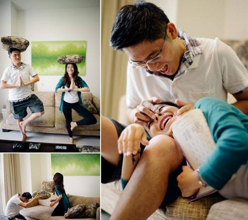 Ảnh cưới đáng yêu của nàng Việt, chàng Đài-7