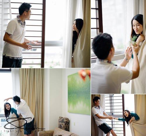 Ảnh cưới đáng yêu của nàng Việt, chàng Đài-11