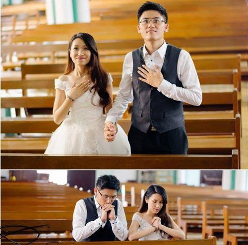 Ảnh cưới đáng yêu của nàng Việt, chàng Đài-13