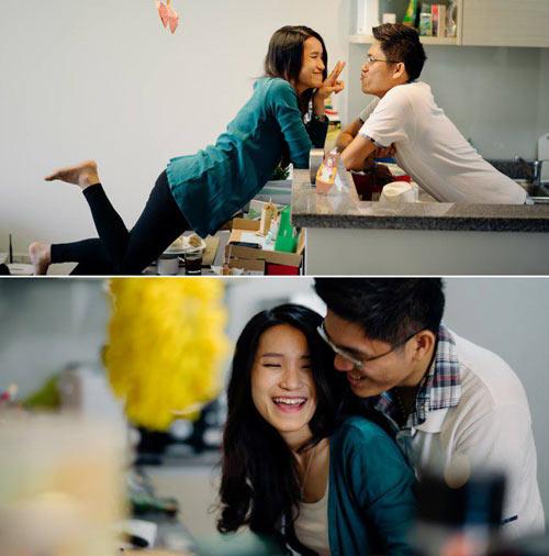 Ảnh cưới đáng yêu của nàng Việt, chàng Đài-1