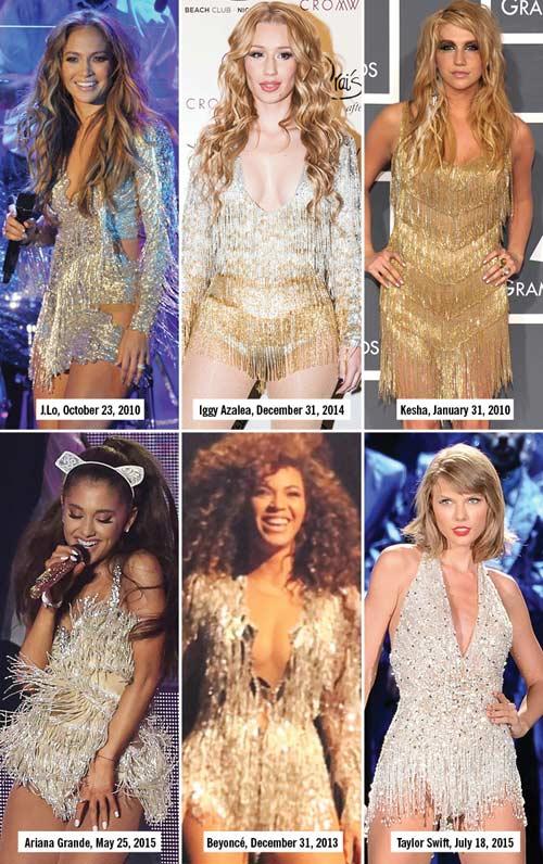 """13 kiểu đồ diễn """"đốt cháy sân khấu"""" của sao nhạc Pop-1"""