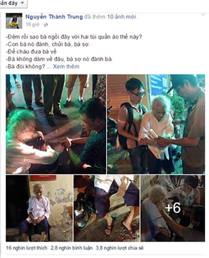 Thực hư vụ mẹ liệt sĩ 92 tuổi bị con trai đánh, đuổi ra đường-1