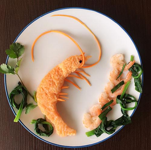 """Mẹ Việt đảm đang mê """"vẽ tranh"""" từ thức ăn-13"""