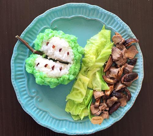 """Mẹ Việt đảm đang mê """"vẽ tranh"""" từ thức ăn-10"""