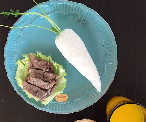 """Mẹ Việt đảm đang mê """"vẽ tranh"""" từ thức ăn-11"""