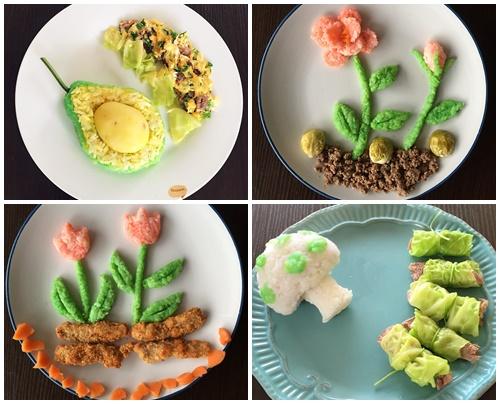 """Mẹ Việt đảm đang mê """"vẽ tranh"""" từ thức ăn-6"""