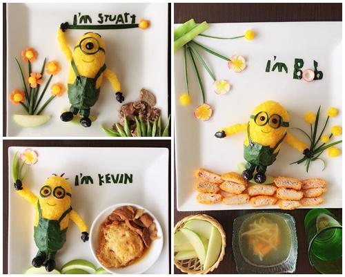 """Mẹ Việt đảm đang mê """"vẽ tranh"""" từ thức ăn-8"""