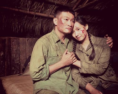 Lã Thanh Huyền ngất trên tay Quốc Thái sau cảnh hôn-2