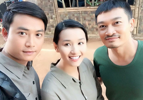 Lã Thanh Huyền ngất trên tay Quốc Thái sau cảnh hôn-4