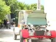 Tin trong nước - Nam sinh Nam Định chế tạo ô tô chạy bằng năng lượng mặt trời