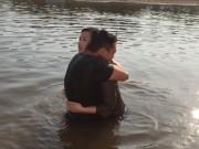 Xem & Đọc - Lã Thanh Huyền ngất trên tay Quốc Thái sau cảnh hôn