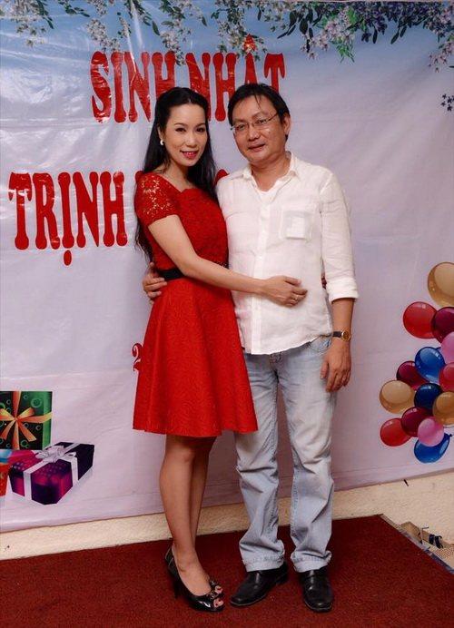 trinh kim chi mung sinh nhat am ap ben chong con - 6