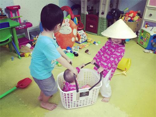 """gia dinh dan le hanh phuc trong ngay """"nguu lang - chuc nu"""" - 7"""