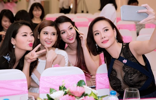 quynh chi do ve goi cam voi truong quynh anh - 8