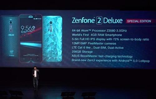 asus ra mat zenfone 2 deluxe special edition voi bo nho 256 gb - 2