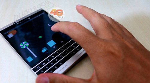 blackberry co the se ra mat blackberry passport chay android? - 2