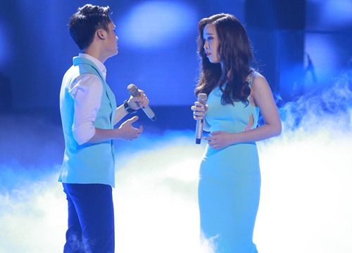 "the voice 2015: mr dam loai co gai ""vua an keo vua hat"" - 12"