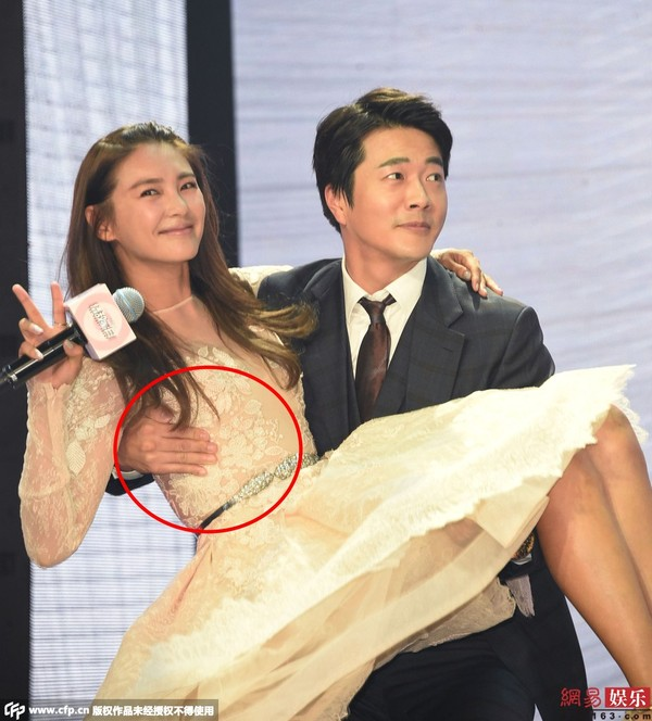 "kwon sang woo bi chi trich vi ""dung cham"" ban dien - 1"