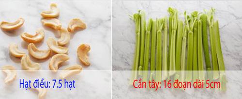 20 loai thuc pham va lieu luong de ban chi nap 100 calories - 6