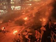 Tin tức - Trung Quốc mịt mù khói lửa vì đốt vàng mã mùa lễ Vu Lan