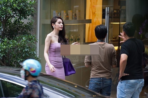 """thuy tien choi tui sang """"at via"""" cac my nhan viet - 10"""