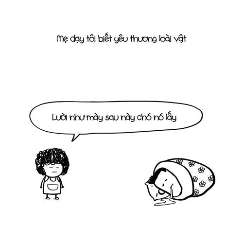 vu lan: cuoi 'chay nuoc mat' voi bo anh 'nhung loi me day' - 2